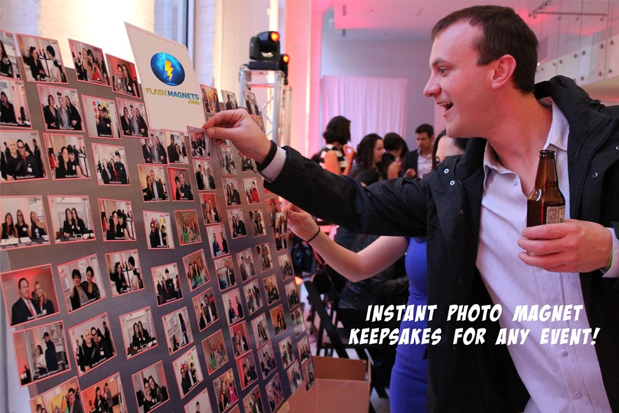 Photo Booth alternative / Photo Magnets on-site - Photographer - Chicago, IL