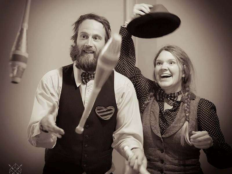 Wren and Della - Circus Performer - Anacortes, WA