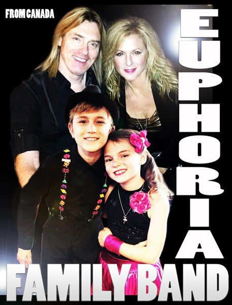 EUPHORIA FAMILY BAND - Cover Band - Kelowna, BC