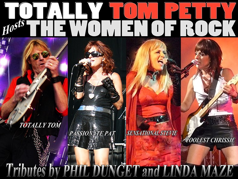 TOTALLY TOM PETTY HOSTS THE WOMEN OF ROCK - Cover Band - Vancouver, BC