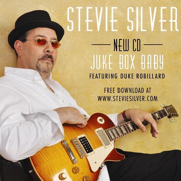 Stevie's CD with Duke Robillard