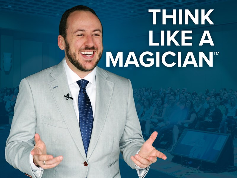 Kostya Kimlat | Think Like A Magician™ - Motivational Speaker - Orlando, FL