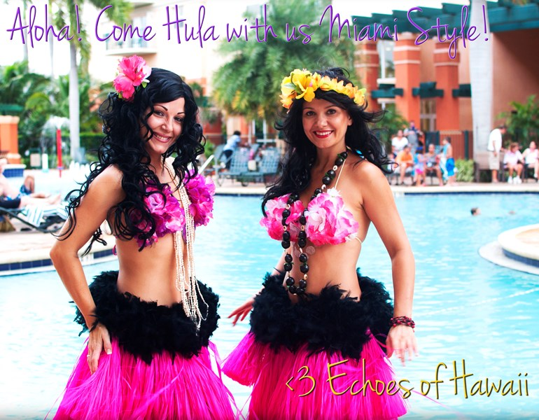 Echoes of Hawaii - Hawaiian Dancer - Hollywood, FL