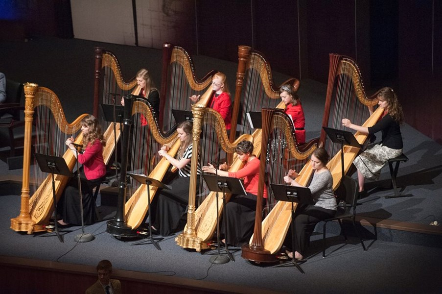 BJU Harp Ensemble 2016 (PC BJU)