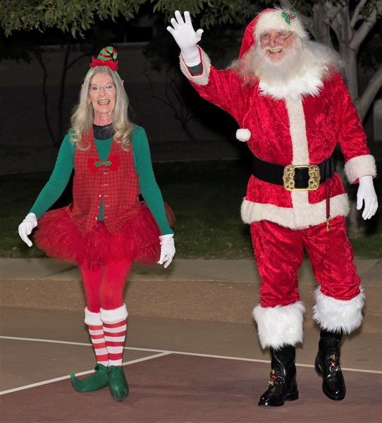 Santa Terry and Elf Kandy - Santa Claus - Phoenix, AZ