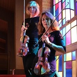 Center Cross Chamber Music Duo | Jolie Deux
