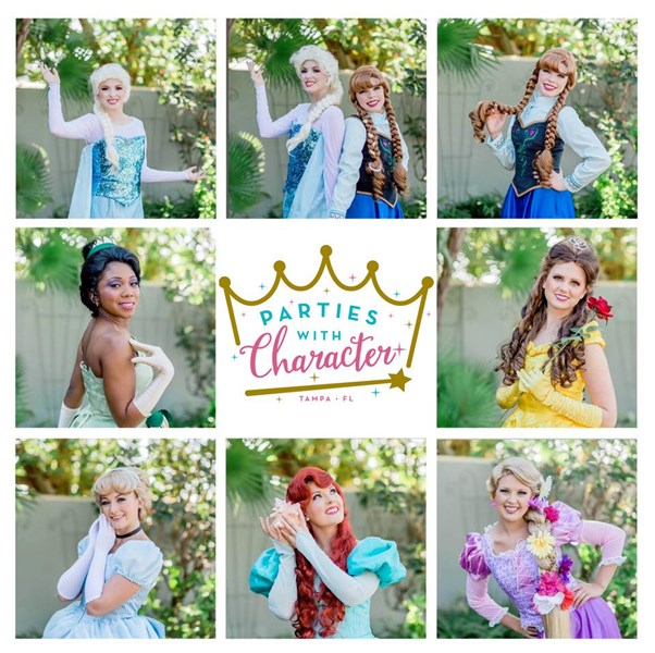 Parties with Character - Princess Party - Tampa, FL