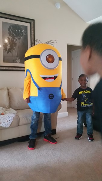 "Our minion ""Stewart"" order 4 party"