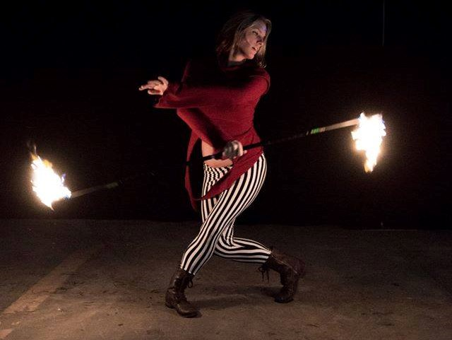 Jazmin Jade Performance Art - Fire Dancer - Sanford, ME