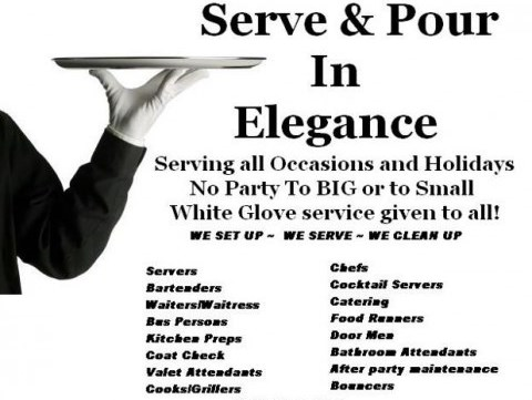 Serve and Pour in Elegance - Caterer - Staten Island, NY