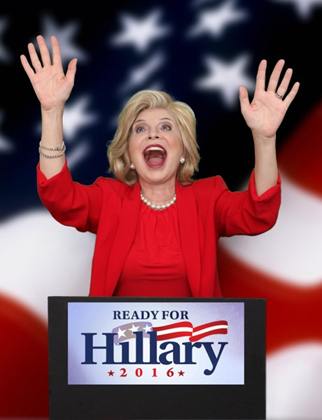 Linda Axelrod - Hillary Clinton impersonator - Hillary Clinton Impersonator - New York City, NY