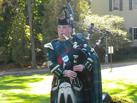 Pipe Major Terence McGovern - Bagpiper - Trumbull, CT