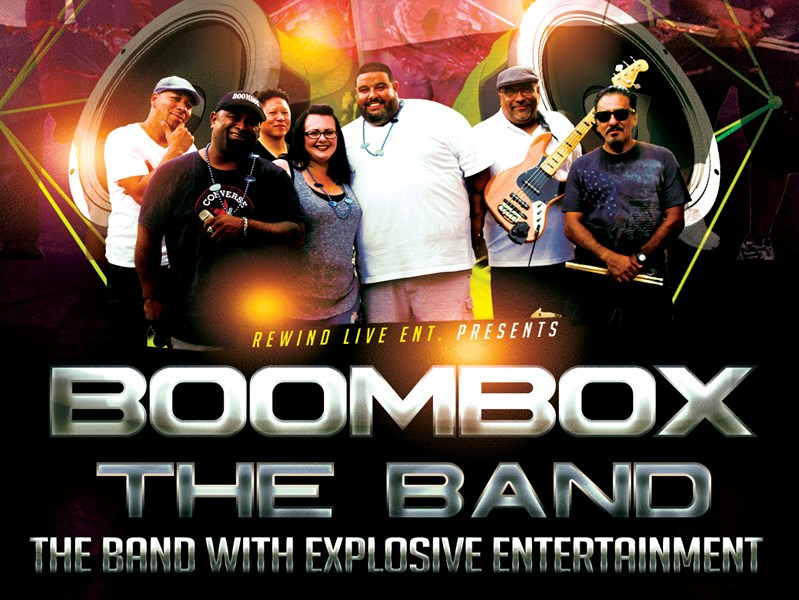 BoomBox The Band - Cover Band - Sacramento, CA