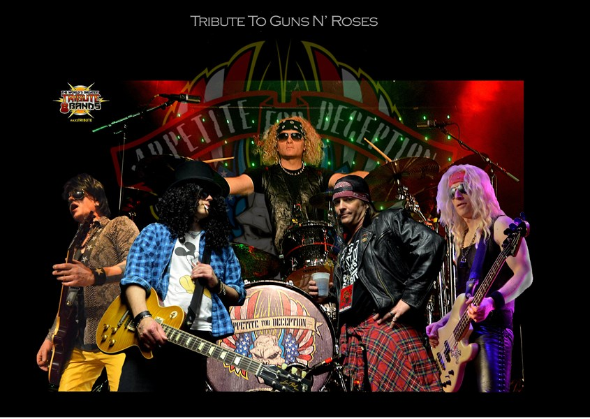 Appetite For Deception - Guns N Roses Tribute Band - Portland, OR