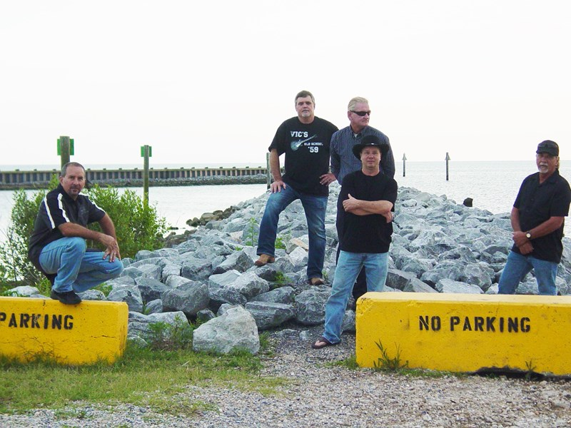 Blue Vynl 45 - Classic Rock Band - Ocean Springs, MS