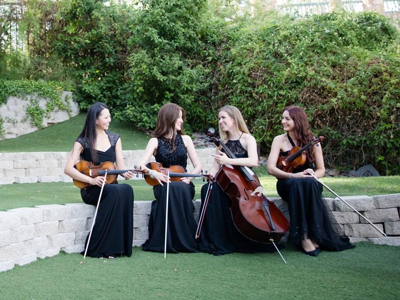 String Quartet Wedding.Premiere Wedding Event Music String Quartet Las Vegas Nv