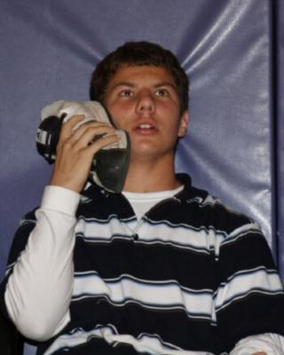 Shoe phone? Yes, he thinks so......