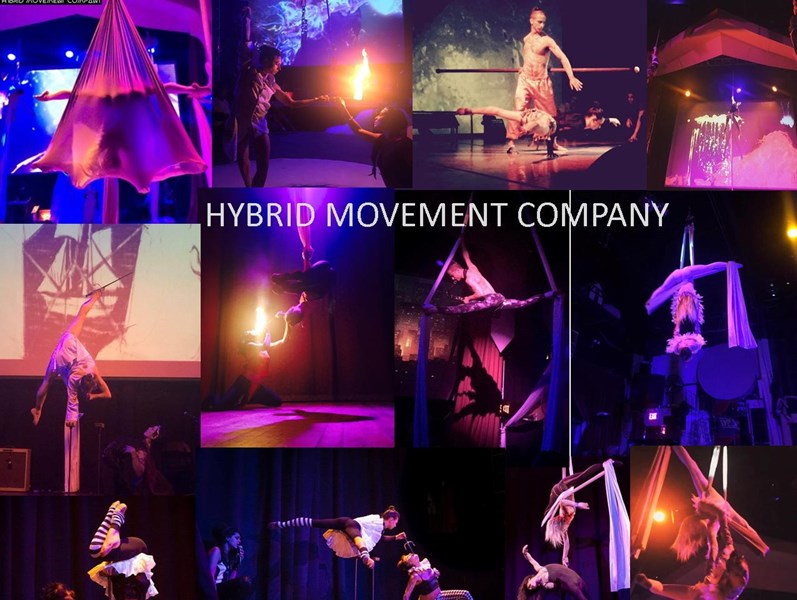 Françoise Voranger Hybrid Movement Co - Circus Performer - Brooklyn, NY