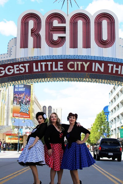 Retro Radio Dolls - Variety Trio - Reno, NV