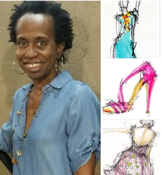 Rhonda Corley,Fashion Illustrations - Silhouette Artist New