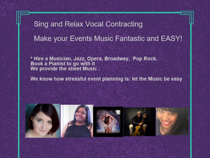 """Sing and Relax INTL Entertainment Services - Singing Pianist - Pittsburgh, PA"