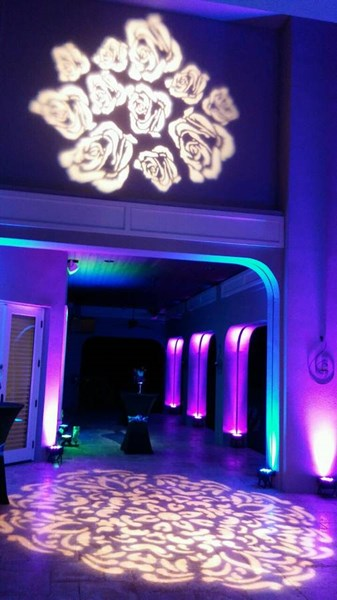 PRIVATE EVENT W/LIGHTS & 2 GOBOS