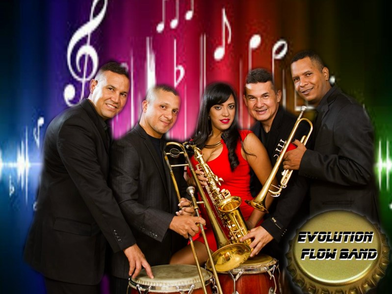 Evolution Flow - Latin Band - Miami, FL