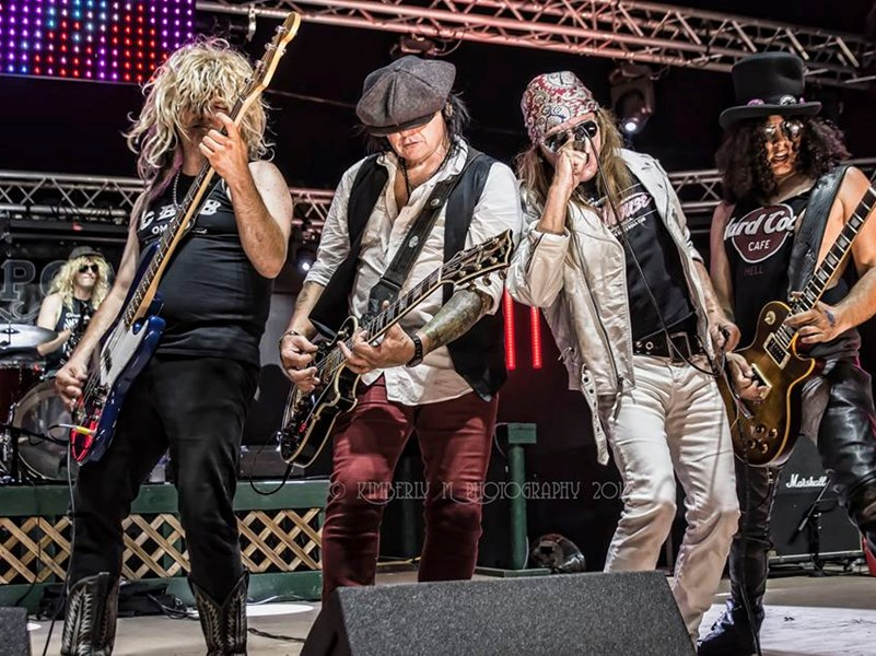 APPETITE 4 DESTRUCTION - Guns N Roses Tribute Band - Anaheim, CA
