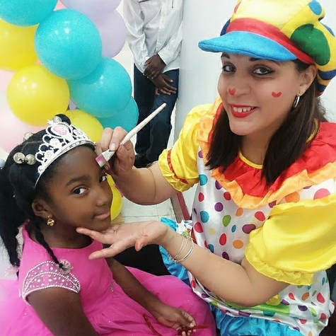 Lulu the Clown Face Painting & NY Party Characters - Face Painter - Woodhaven, NY