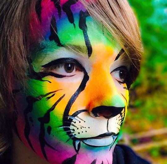 Northwest Fantasy Face and Body Art - Face Painter - Puyallup, WA