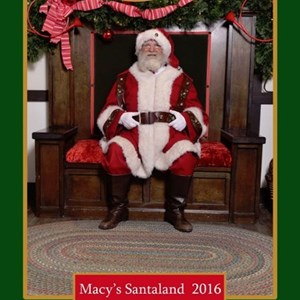 Berrien Center Santa Claus | Santa Chicago - Real Bearded Macy's Santa