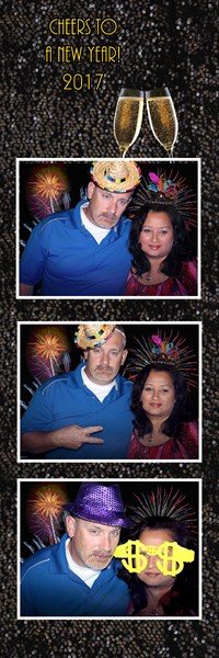 Photo Booth New Years design
