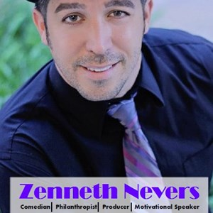 Las Vegas, NV Clean Comedian | Zenneth Nevers Comedian/Motivational Speaker