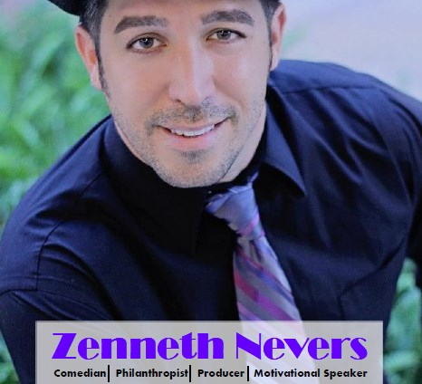 Zenneth Nevers Comedian/Motivational Speaker - Clean Comedian - Orlando, FL