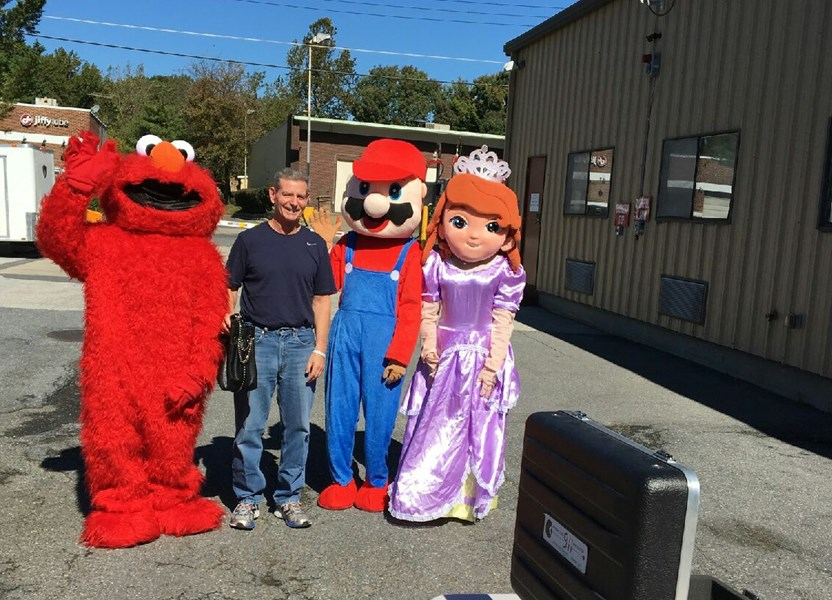 Costume Catering - Costumed Character - Gaithersburg, MD
