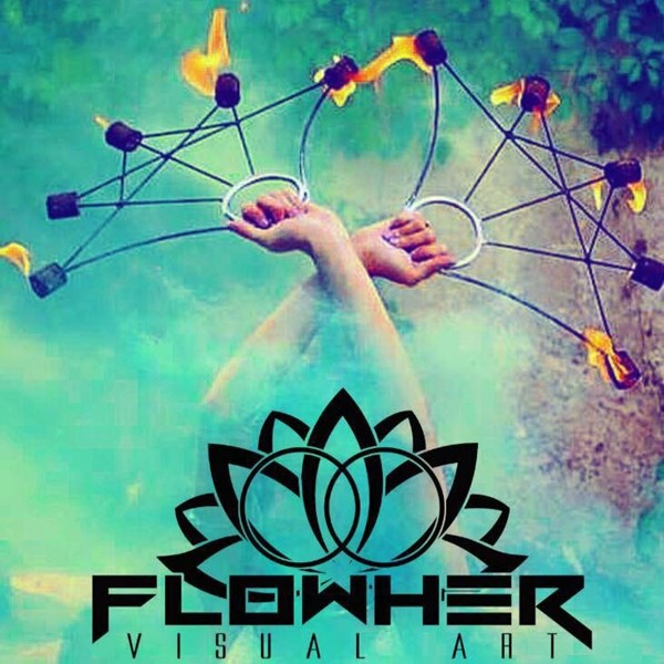 Flowher Visual Art - Fire Dancer - Denver, CO