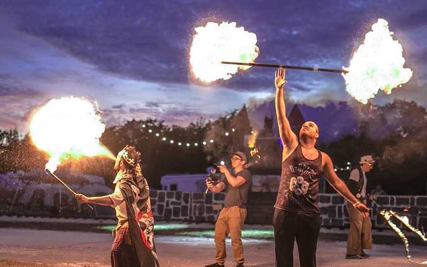Trick Fire Agency - Fire Dancer - Tampa, FL