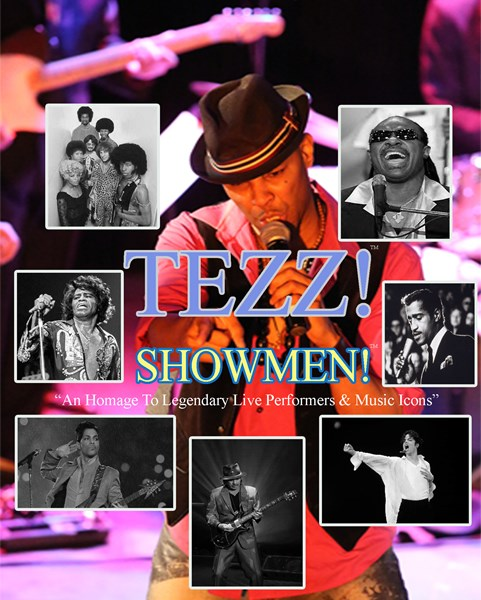 Tezz Yancey -Showmen! - Cover Band - Los Angeles, CA