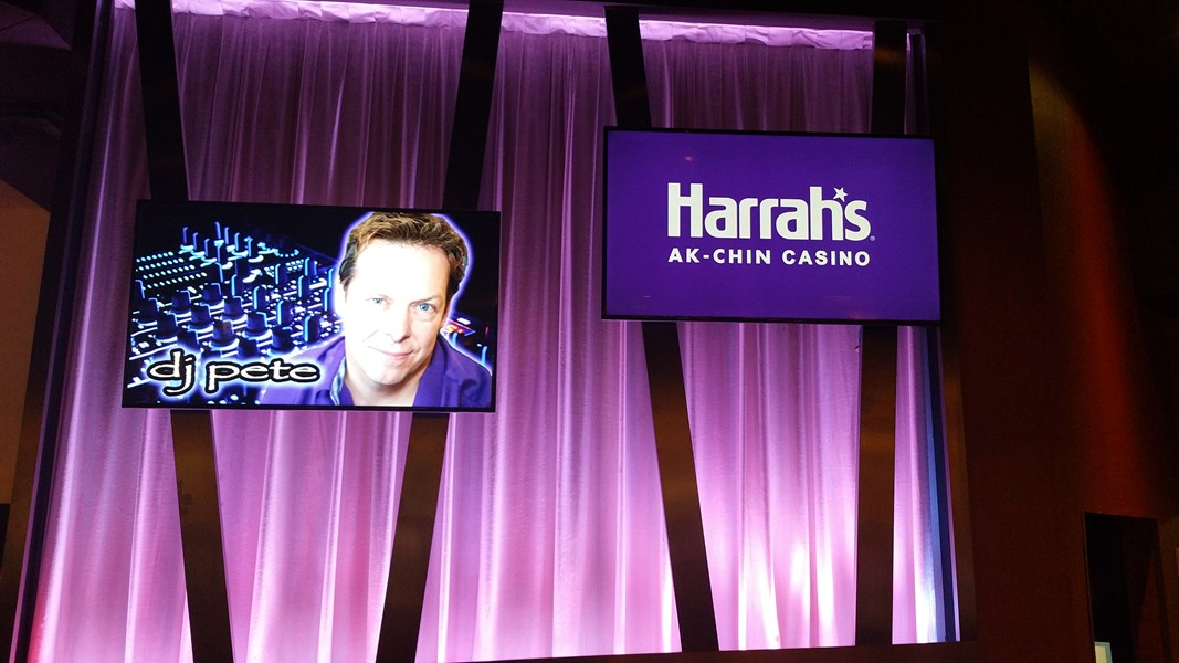 Featured entertainer for Harrah's