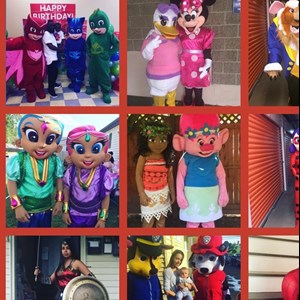 Washington Costumed Character | Fantasy Kids Parties Galore