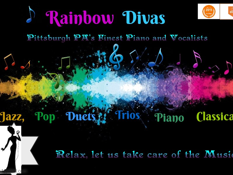 """The Rainbow Diva's"" - Singing Pianist - Pittsburgh, PA"