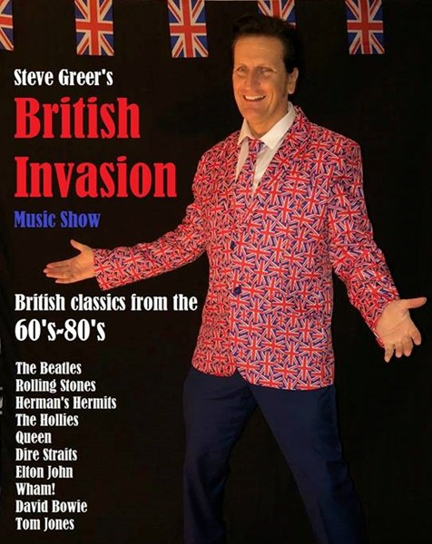 Stevie G - Singer & British Invasion Show - Tribute Singer - Orlando, FL