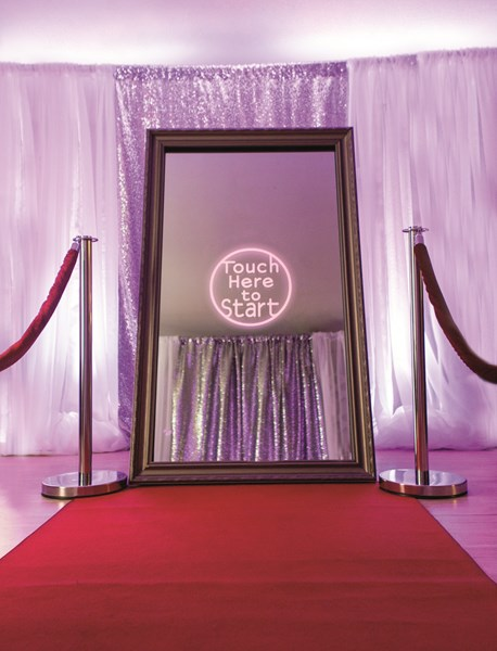 Deluxe (Mirror) Photo Booth package