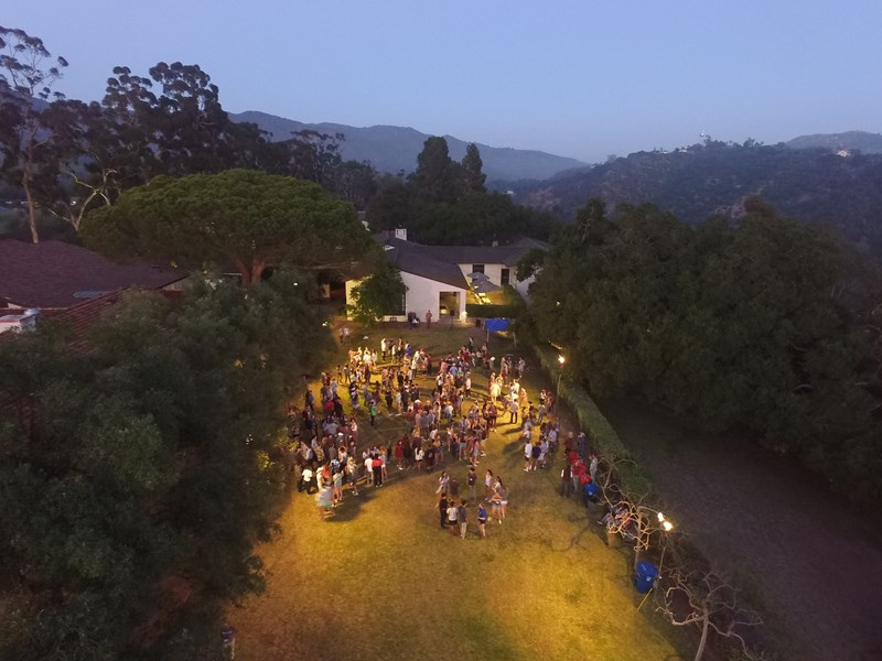 A Drones Eye View Of a Recent Party