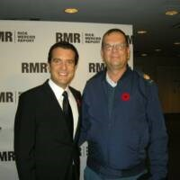 With Rick Mercer at the CBC