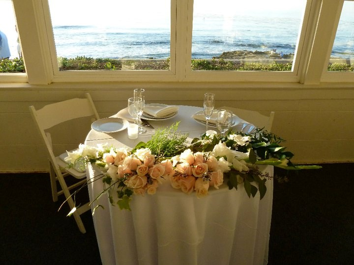 Elegant Sweetheart Table Floral
