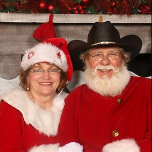 Santa Bill and Mrs. Claus