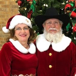 Houston, TX Santa Claus | Santa Bill and Mrs. Claus