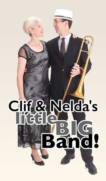 Clif & Nelda's little BIG Band - Jazz Duo - Seattle, WA