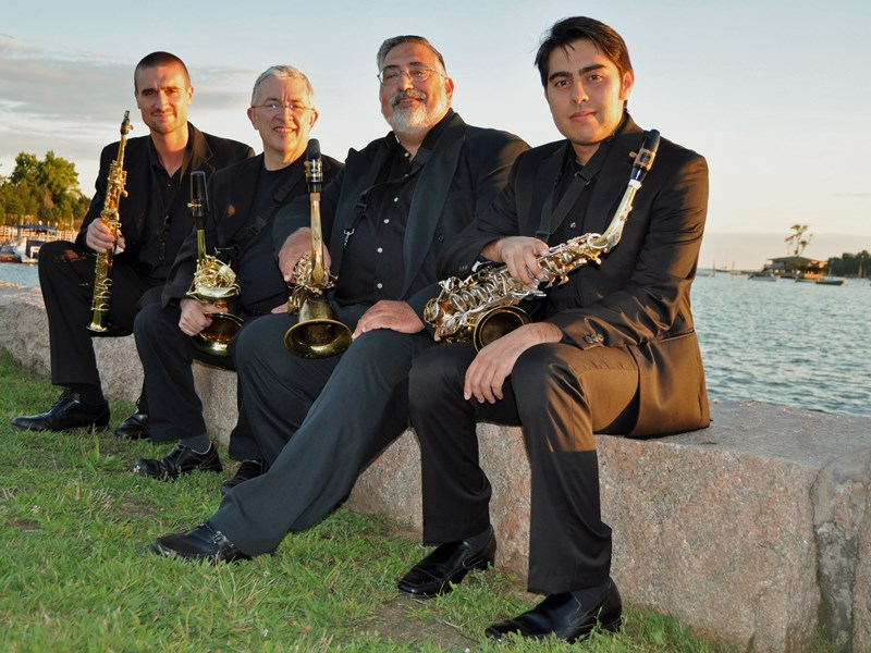 Thimble Island Saxophone Quartet - Classical Quartet - Branford, CT